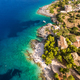 Aerial  view of  Agios Nikolaos city  in Zakynthos (Zante) islan - PhotoDune Item for Sale