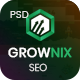 Grownix - SEO, Marketing business PSD Template - ThemeForest Item for Sale