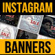 Instagram Fashion Sale Banners - GraphicRiver Item for Sale