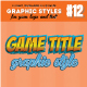 10 3D Game / Comic Title Graphic Style Vol. 01 - GraphicRiver Item for Sale