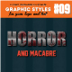 Horror and Macabre Graphic Style - GraphicRiver Item for Sale