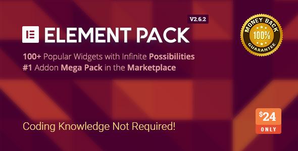 Element Pack - Addon for Elementor Page Builder WordPress Plugin Nulled