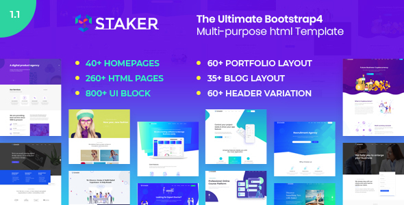 Special Staker - Multi-purpose HTML Template