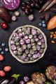 Purple food on dark background - PhotoDune Item for Sale