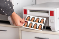 Just printed passport photos exiting a printer - PhotoDune Item for Sale