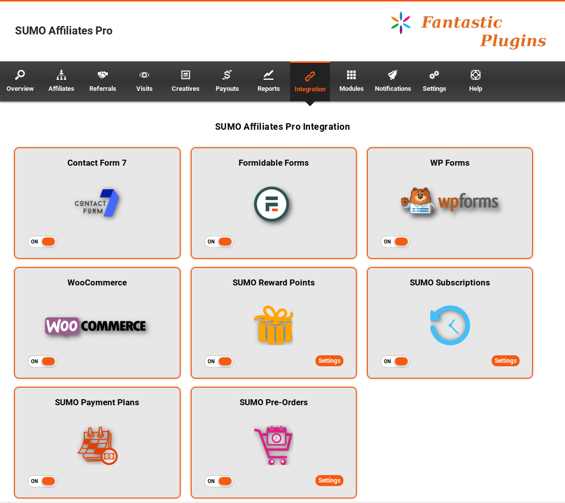 SUMO Affiliates Pro - WordPress Affiliate Plugin by FantasticPlugins