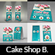 Cake Shop Advertising Bundle Vol.4 - GraphicRiver Item for Sale