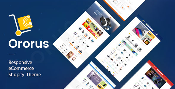 Ororus - Electronics eCommerce Shopify Theme - Technology Shopify