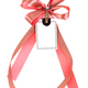 ribbon bow with label tag - PhotoDune Item for Sale