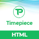 Product Landing Page - Timepiece - ThemeForest Item for Sale