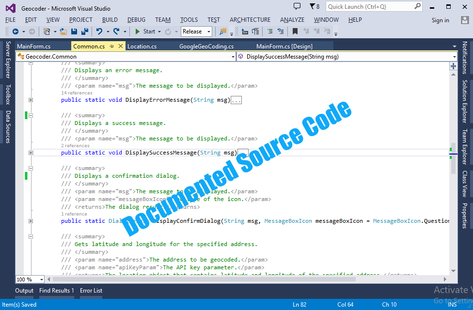 Geocoder and Reverse Geocoder - Source Code