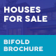 Houses For Sale Bifold / Halffold Brochure - GraphicRiver Item for Sale