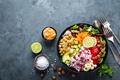 Healthy vegetarian Buddha bowl - PhotoDune Item for Sale