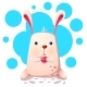 Rabbit with Love Heart - GraphicRiver Item for Sale