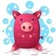 Pig Illustration - GraphicRiver Item for Sale