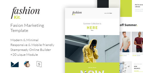 Fashion Kit - Fashion Marketing Template - Email Templates Marketing