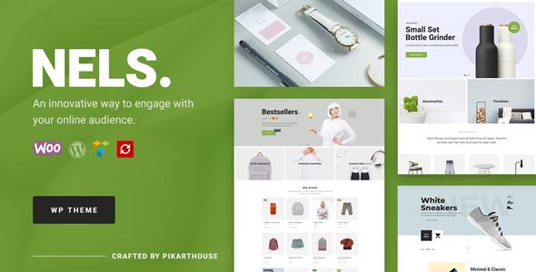 Nels - An Exquisite eCommerce WordPress Theme - WooCommerce eCommerce