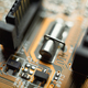 Electronic circuit blur - PhotoDune Item for Sale