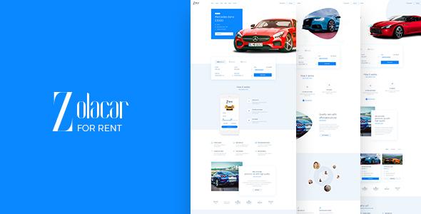 Leo Rent Car - Car Rental Website