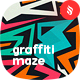 Colored Graffiti Maze Seamless Patterns / Tileable Backgrounds - GraphicRiver Item for Sale