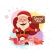 Cartoon Santa Claus - GraphicRiver Item for Sale