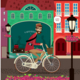 City Travel By Bicycle - GraphicRiver Item for Sale
