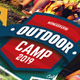 Outdoor Camp - GraphicRiver Item for Sale