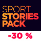 Sport Stories Pack - VideoHive Item for Sale