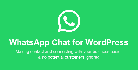 Whatsapp Chat WordPress Free Download | Nulled