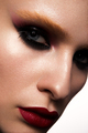 Beautiful woman with professional make up. Red lips - PhotoDune Item for Sale
