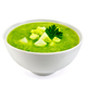 Soup cucumber with parsley in bowl - PhotoDune Item for Sale