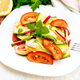 Salad with zucchini and vegetables on board - PhotoDune Item for Sale