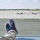 Man waiting at airport - PhotoDune Item for Sale