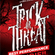 Trick or Threat Flyer - GraphicRiver Item for Sale