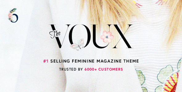The Voux - A Comprehensive Magazine Theme