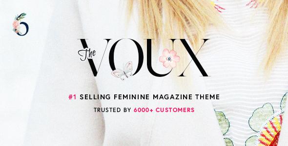 the voux wordpress theme free download