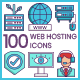 Web Hosting Icons - GraphicRiver Item for Sale