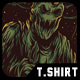 Slime Monster T-Shirt Design - GraphicRiver Item for Sale