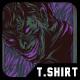 Killing Smile T-Shirt Design