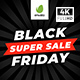 Black Friday Sale Promo - VideoHive Item for Sale