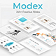 Modex Creative Google Slide Template - GraphicRiver Item for Sale