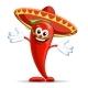 Pepper in Sombrero - GraphicRiver Item for Sale