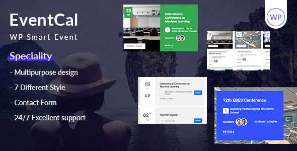 EventCal - WP Smart Event Plugin Free Download | Nulled