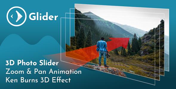 Glider 3D Photo Slider v1.3 - CodeCanyon Item for Sale