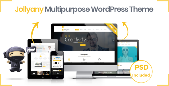 Download Jollyany – Corporate Multi Purpose WordPress Theme nulled preview image2