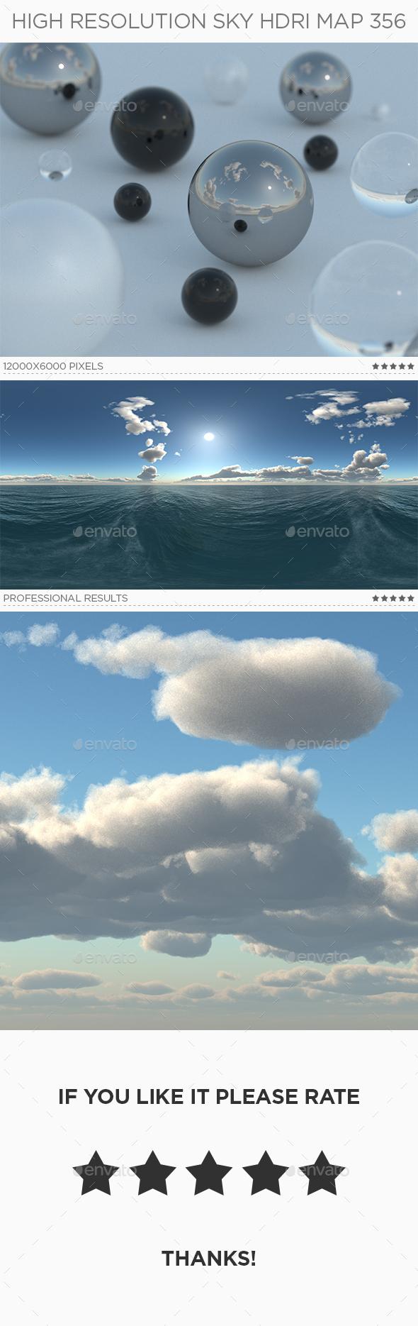 High Resolution Sky HDRi Map 356 - 3DOcean Item for Sale