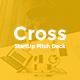 Cross StartUp Picth Deck Keynote - GraphicRiver Item for Sale