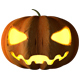 C4D Halloween Pumpkin Animated - 3DOcean Item for Sale