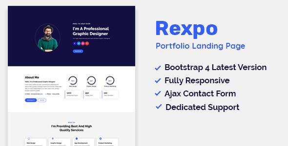 Rexpo - Personal Portfolio Template