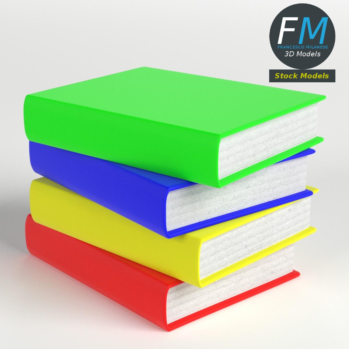 Books Stack 1